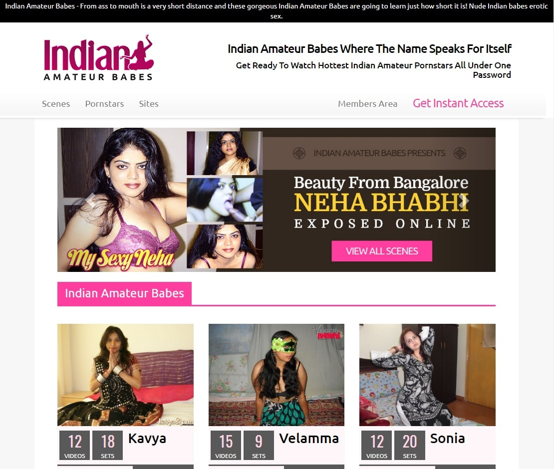 Indian Porn Sites - Indian Amateur Babes