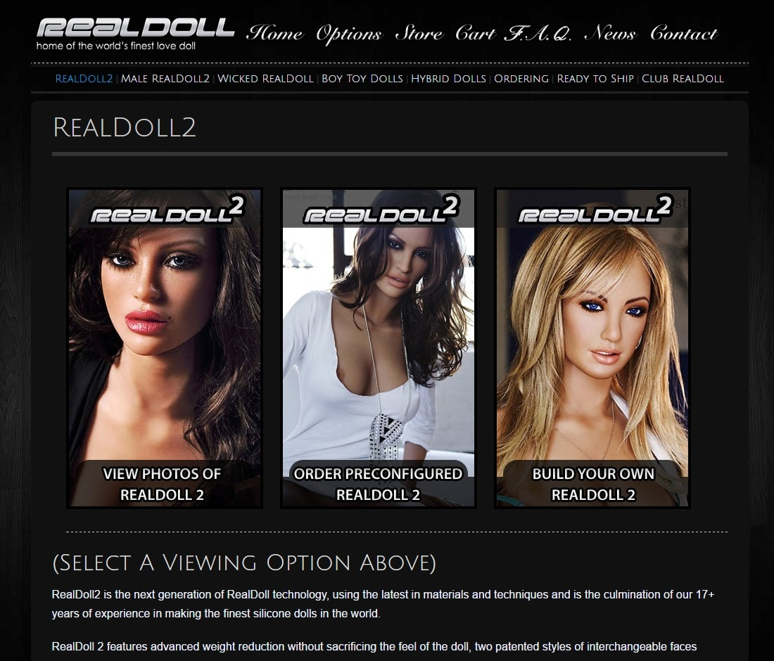 Online Sex Shops - Real Doll