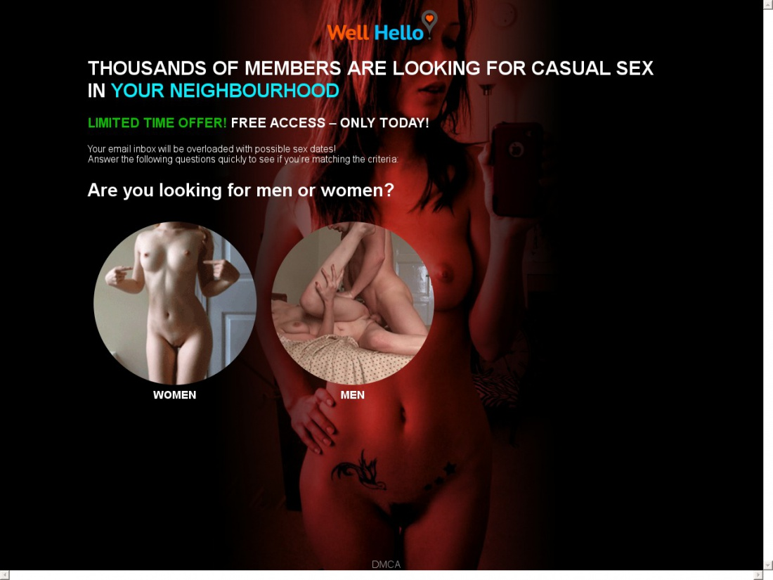 Sex Dating Sites - Well Hello